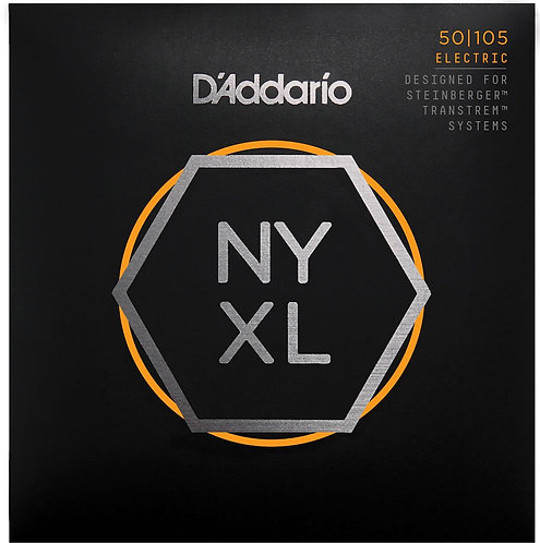 D'Addario NYXLS50105 Nickel Wound Bass Guitar Strings Med 50-105 Double Ball End