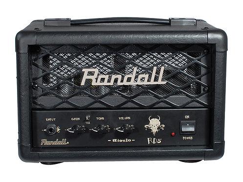 Randall 5 w single ch head      5 w high gain amp