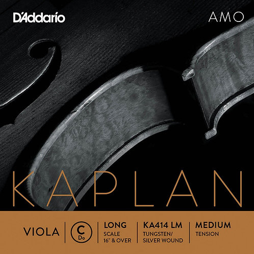 D'Addario Kaplan Amo Viola C String Long Scale Med Tension