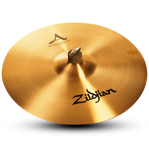 "17"" A Zildjian Medium Thin Crash"
