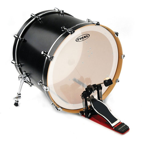 Evans EQ3 Frosted Bass Drum Head 22 Inch