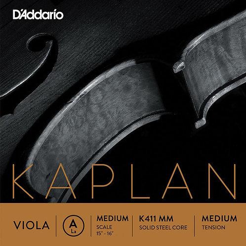 D'Addario Kaplan Forza Viola String Set Med Scale Med Tension