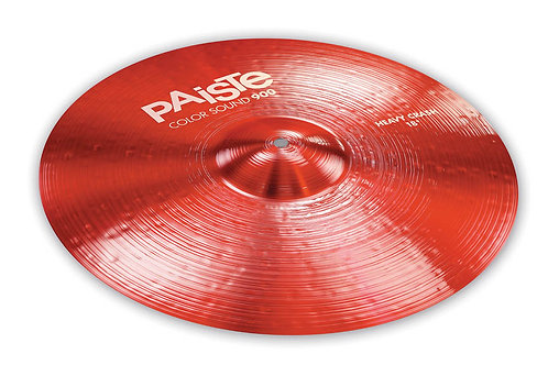 Paiste 18 900 Cs Red Heavy Crash