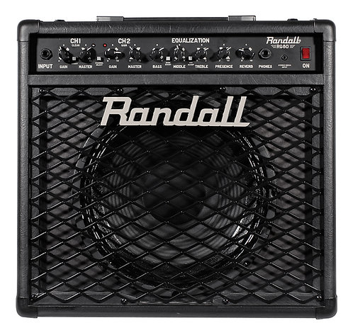 Randall 80w 2 CH FETSolid State Combo 12 in guitar combo amp w foots