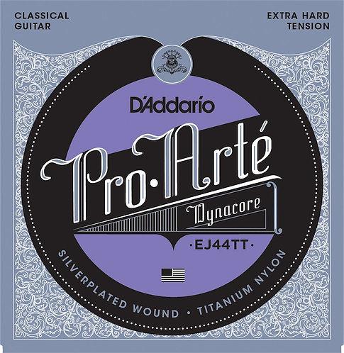 D'Addario EJ44TT ProArte Dynacore Classical Guitar Strings Titanium Trebles