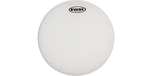 Evans White Coated Genera Heavy Duty Snare Drum Head