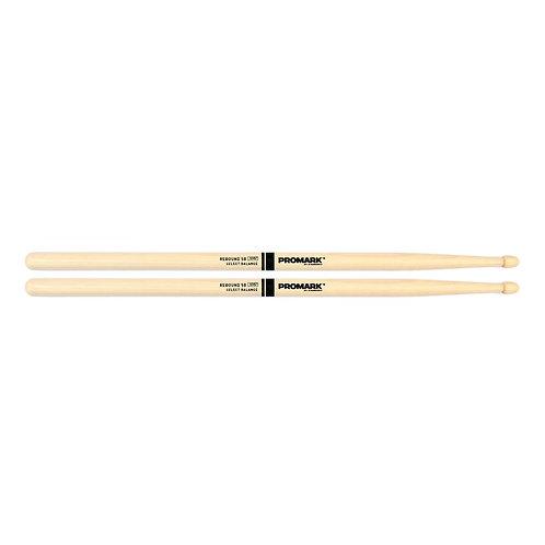 "Rebound 5B .595"" Hickory Acorn Wood Tip"