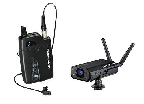 Audio-Technica Cam-mount wireless lav mic System 10 Camera-mount Wls