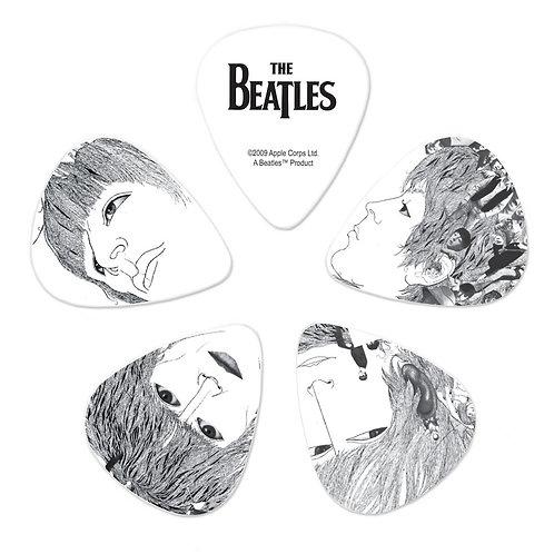 D'Addario Beatles Guitar Picks Revolver 10 pack Hvy