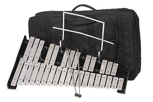 Percussion Plus 32 Note Bell Set with Bag