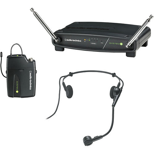 Audio-Technica PRO8HE HEADSET WLS SYS 169.505 - 171.905 MHz