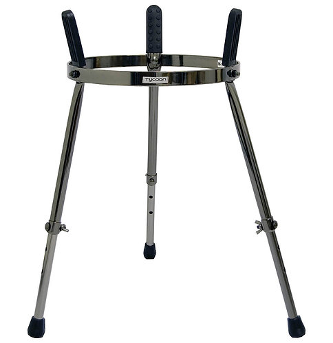 Master Series Single Conga Stand - Black Pearl Finish