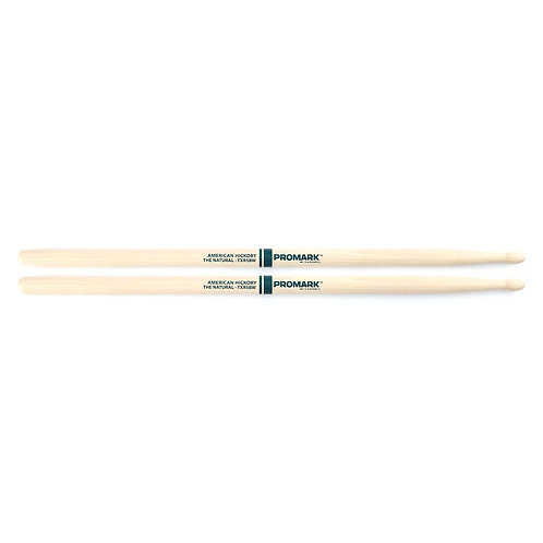 """Promark Hickory 5B """"The Natural"""" Wood Tip drumstick"""