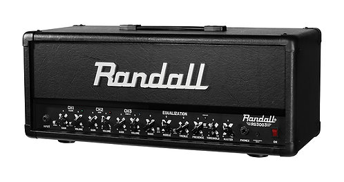 Randall 300W 3 CH FETSolid State GTR H300 w guitar amp w footswitch