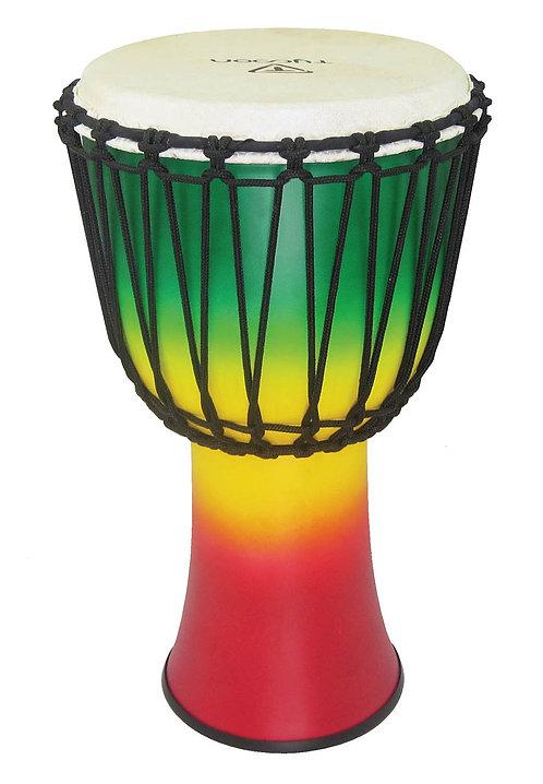 "10"" Fiberglass Djembe - Jamaican Finish (Rope Tuned)"