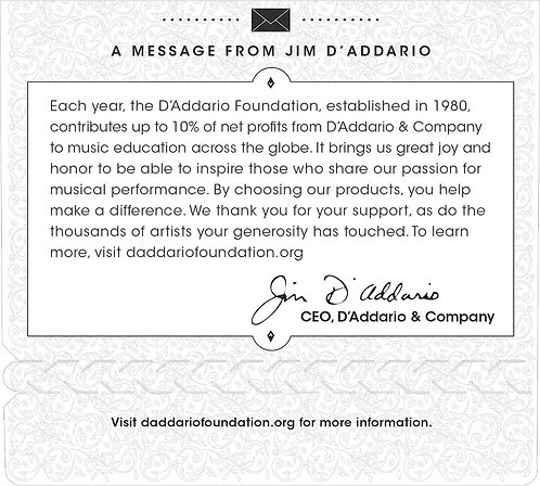 D'Addario CG050 Flat Wound Electric Guitar SGL String .050