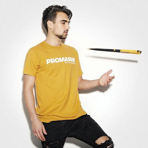 Promark Yellow Branded T-Shirt - Medium