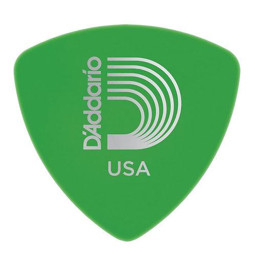 D'Addario Duralin Guitar Picks Med 100 pack Wide Shape