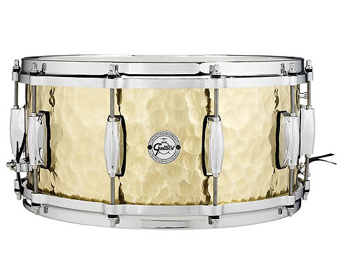 Gretsch Hammered Brass Snare Drum