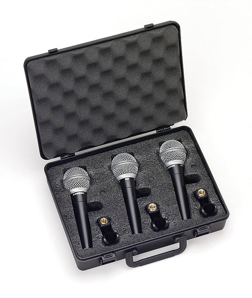 Dynamic Vocal/Presentation Microphone 3-Pack. R21