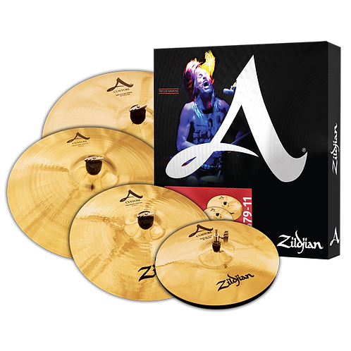 A Custom Cymbal Set