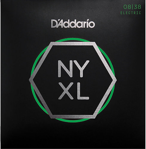 D'Addario NYXL0838 Nickel Wound Electric Guitar Strings X Super Light 8-38