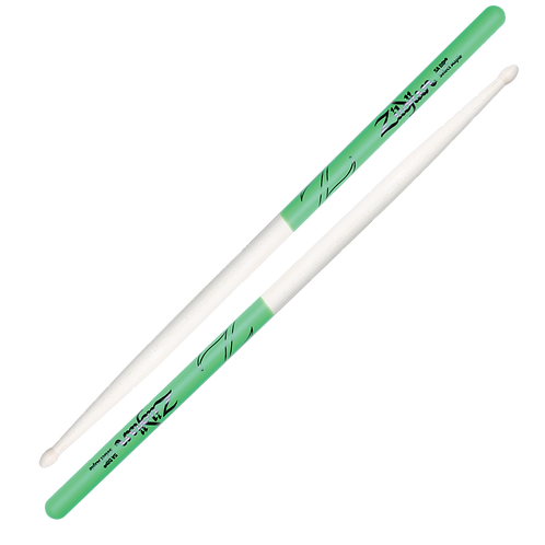 5A Maple Green DIP Drumsticks