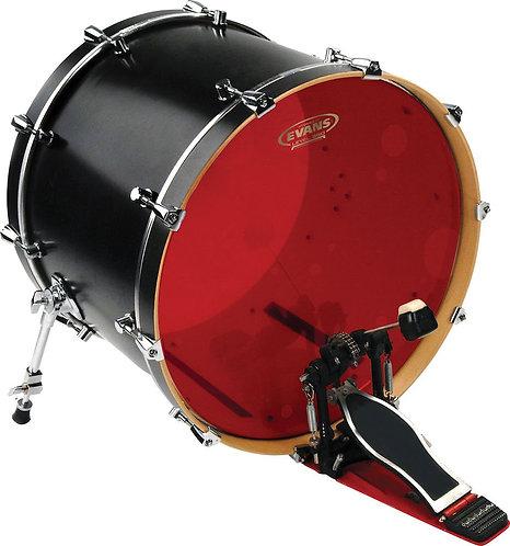 Evans Hydraulic Red Bass Drum Head 22 Inch