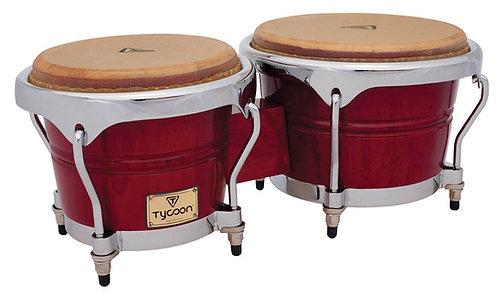 Concerto Series Red Finish Bongos