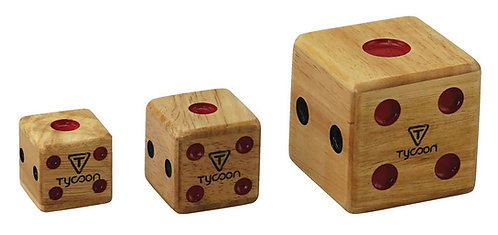 Set Of 3 Dice Shakers