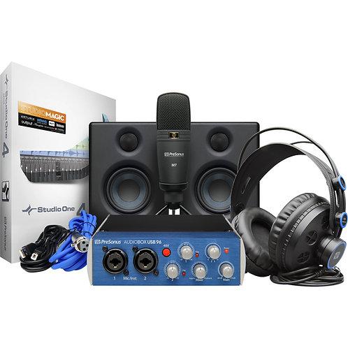 AudioBox Studio Ultimate Deluxe Hardware/Software Recording Collection
