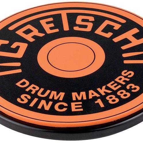 Orange Round Badge Practice Pads