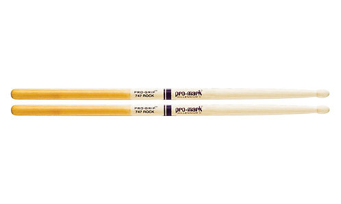"Promark Hickory 747 ""Pro-Grip"" Wood Tip drumstick"