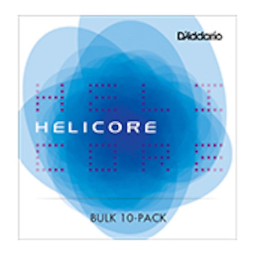 D'Addario Helicore Violin String Set 4/4 Scale Hvy Tension Bulk 10-Pack