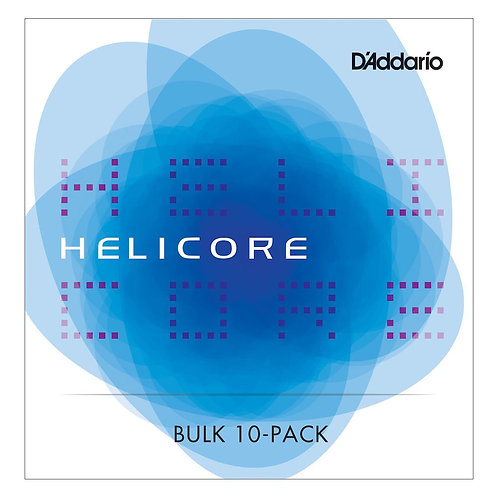 D'Addario Helicore Viola SGL G String Short Scale Med Tension Bulk 10-Pack