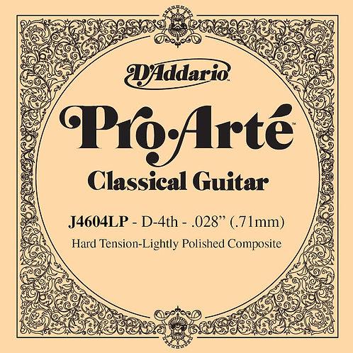 D'Addario J4604LP Pro-Arte Composite Classical Guitar SGL String Hard Tension Fo