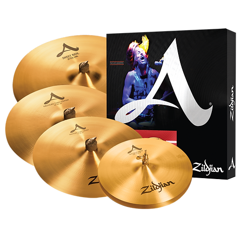 A Zildjian A391 Cymbal Set
