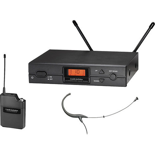 Audio-Technica 2000 Series Wireless System 487.125-506.500 MHz (TV 16-20)