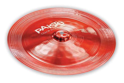 Paiste 14 900 Cs Red China