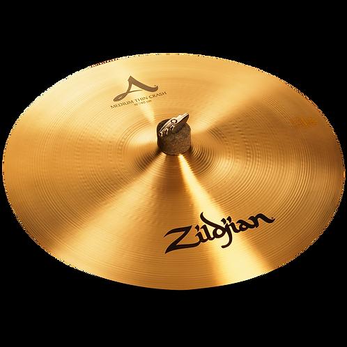 "20"" A Zildjian Medium Thin Crash"