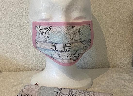 Maskenset Damen Kreis
