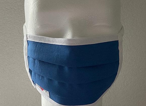 Behelfsmaske Herren blau