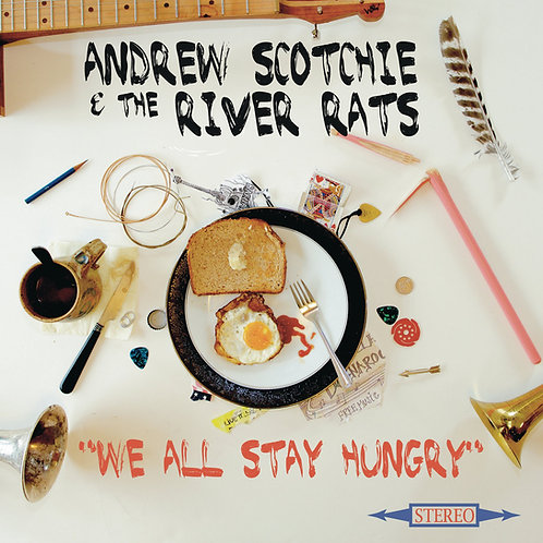 """We All Stay Hungry"" CD (2015)"