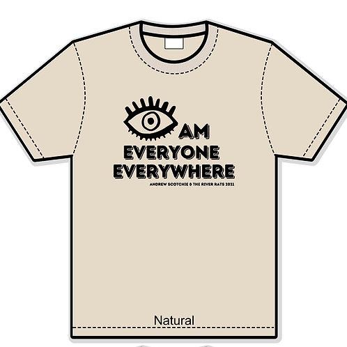 Eye Am Everyone Everywhere 2021 T (Natural)