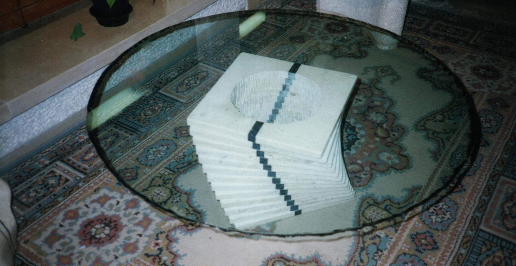 Tavolo a spirale