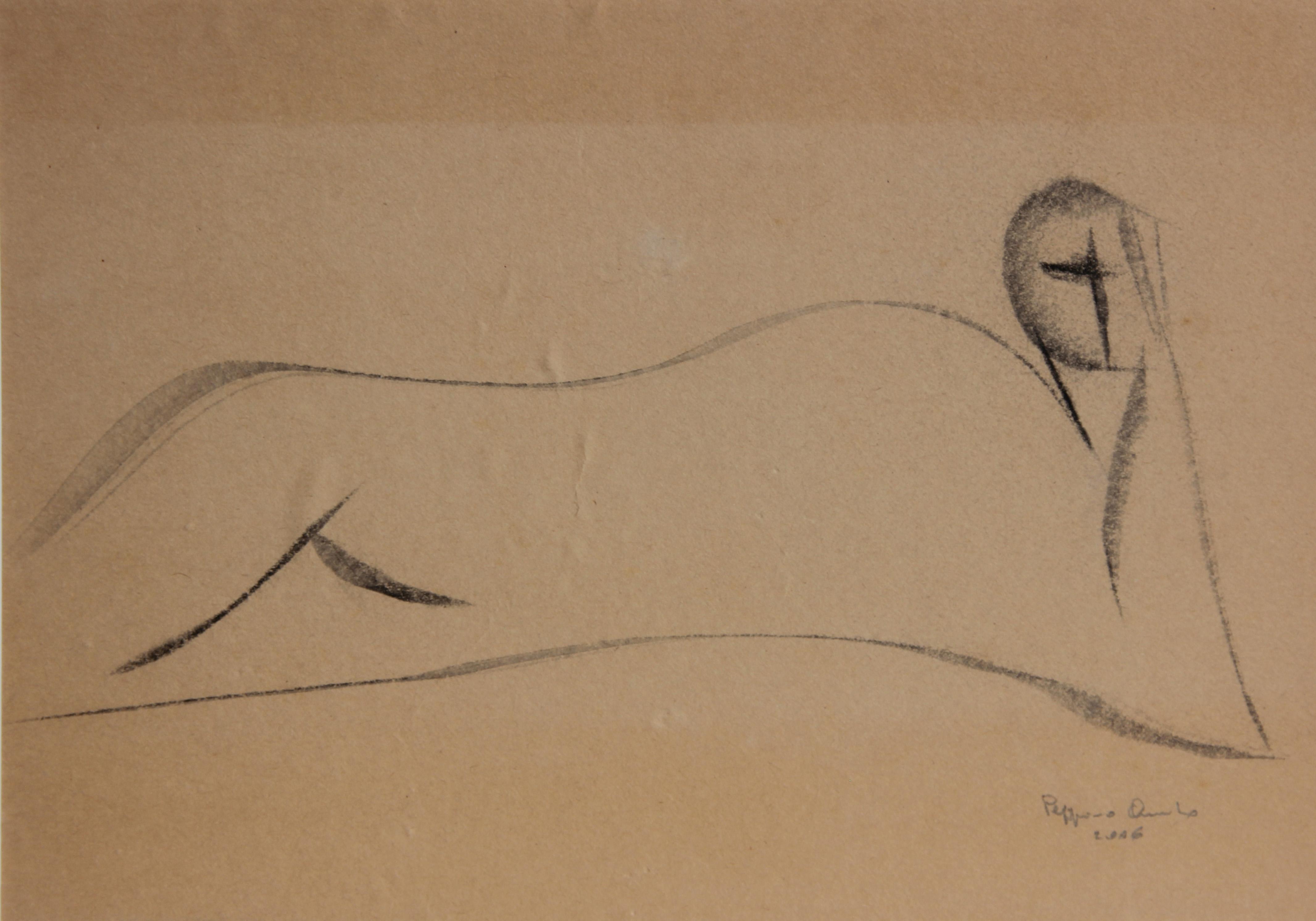 Meditazione, studio, 2006 - 29x20 cm