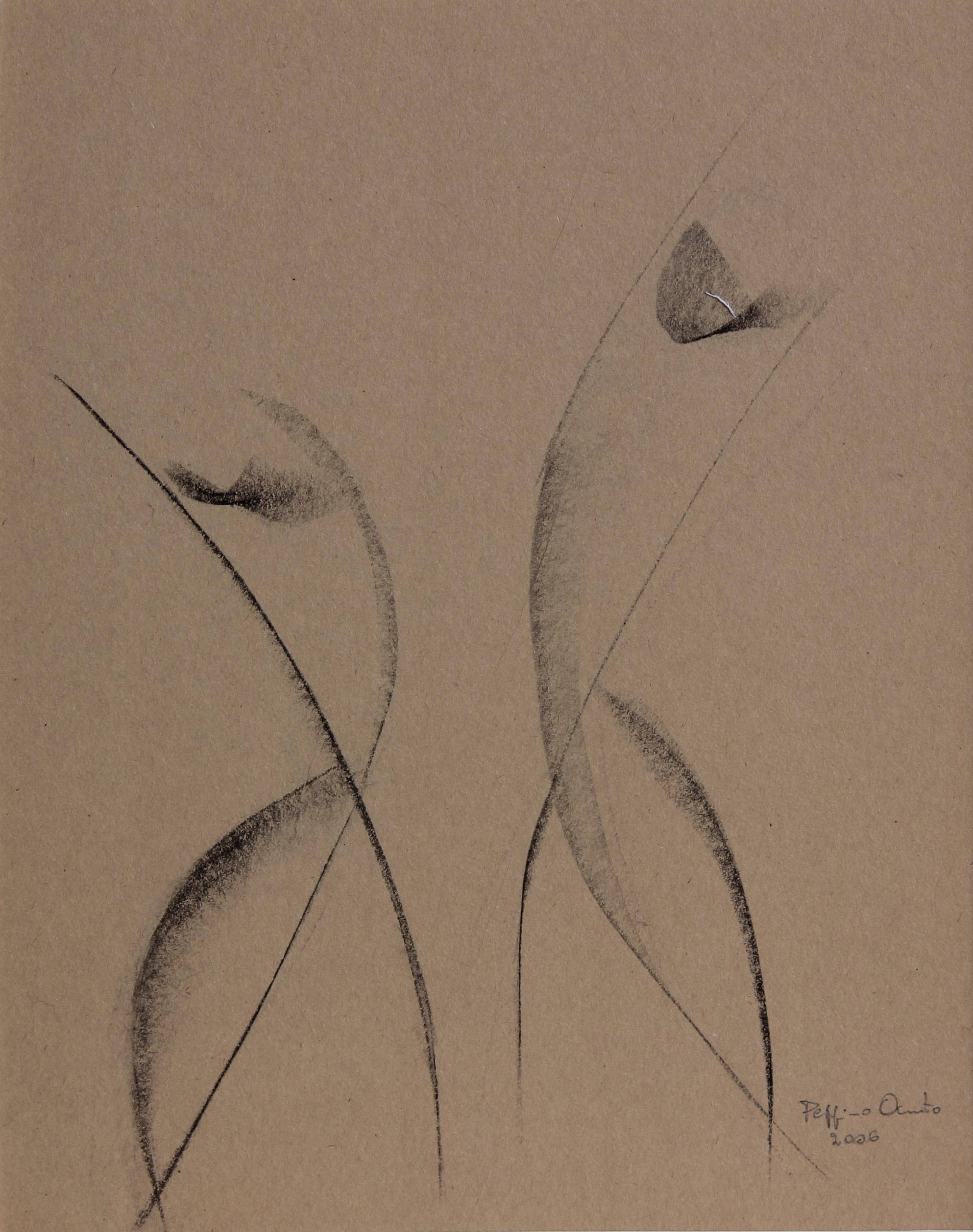 Prove di ballo, 2006 - schizzo  21x27 cm