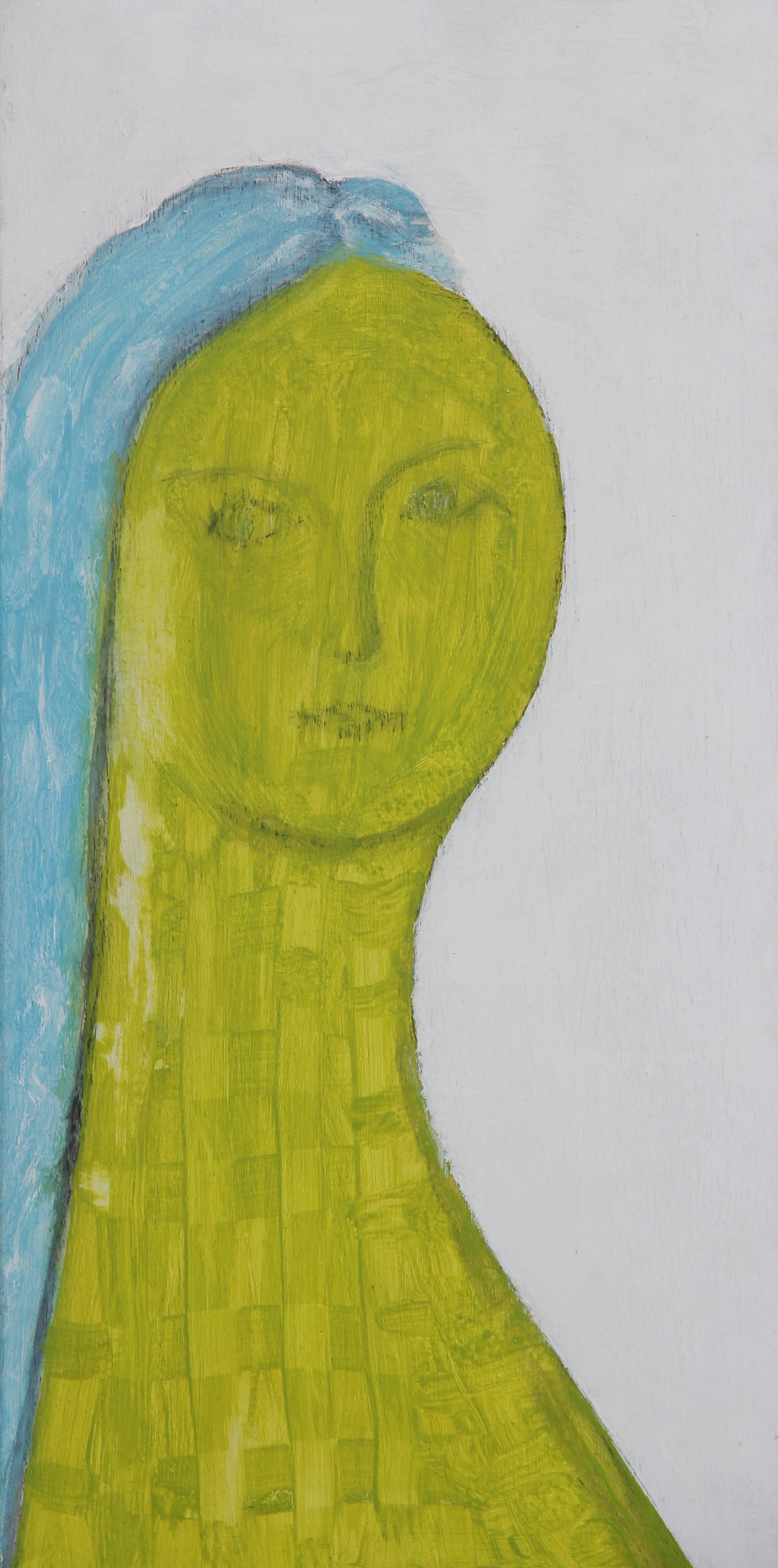 Turchina, 2019 - acrilico su tavola, cm 25x50