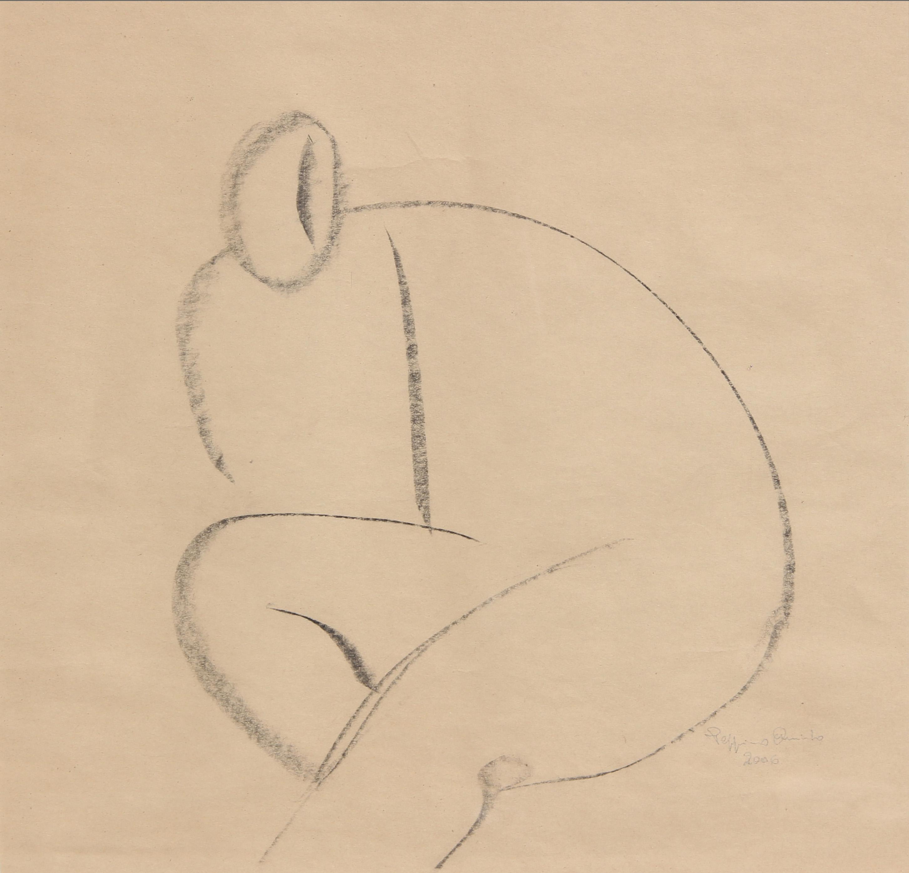 Risveglio, 2006 - studio  37x37 cm
