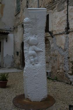 Scalaluna, 2010 - marmo, 300 cm.